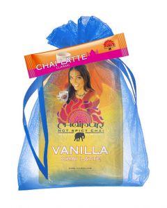 CHAIPUR Vanilla Chai Latte 500 g im Organza Geschenksäckchen
