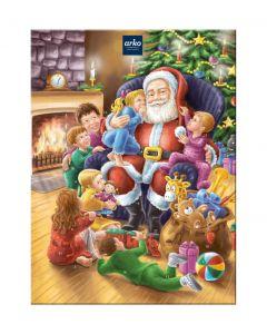 """Adventskalender """"Weihnachtsmann"""", Pralinen-Auswahl ohne Alkohol von arko, 300 g"""