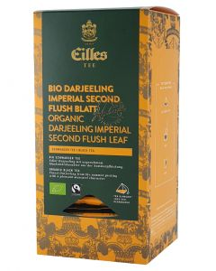 EILLES World Luxury Selection Bio Darjeeling Imperial Second Flush Blatt