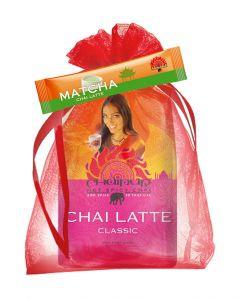 CHAIPUR Chai Latte 500 g im Organza Geschenksäckchen