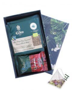 Little- Tea Diamonds -Box , einzelverpackt Bio Darjeeling Imperial 2nd Flush und Walkers Kekse