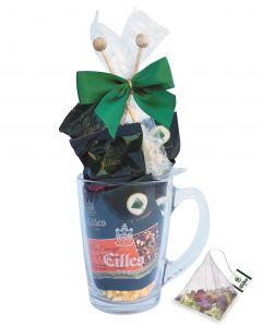 Geschenkset Tea Diamonds im Designerglas von EILLES