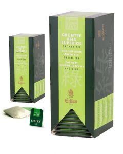 EILLES Teebeutel Grüntee Asia Superior 2 x 25 Stück