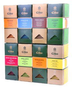 EILLES TEEBEUTEL Bestseller Set mit 8 Sorten EILLES Tee, 200 Portionen Sparset