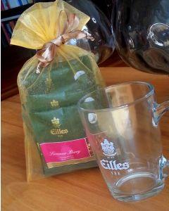 EILLES Tea Diamonds Geschenk Trendglas mit 10 Sorten im Säckchen