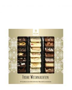 EILLES Weihnachtliche Weltreise, Schokoladentäfelchen, 165g