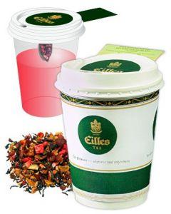 Eilles Tea-2-Go Sommerbeeren Früchte 12er Pack mit Becher
