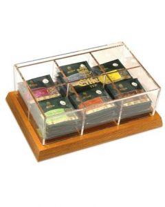 EILLES Luxus Display aus Holz für Tea Diamonds