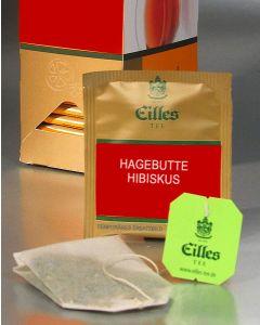 EILLES Teebeutel Deluxe Hagebutte mit Hibiskus 25 Stück