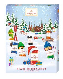 Adventskalender Winterklassiker von Hussel, 300g