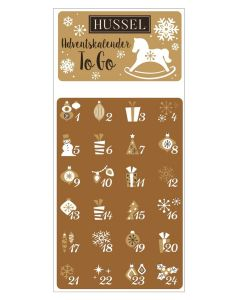 "Adventskalender ""To Go"" von Hussel, 30g"