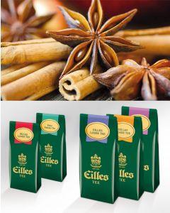 WINTER TEA Loser Tee Probierpaket von EILLES TEE mit gratis Teeglas