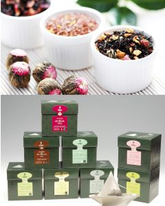 KRÄUTER & FRUCHT EILLES Tea Diamonds Probierset inkl. Teeglas