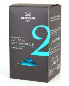 Sansibar Tee Nr. 2 Assam mit Vanille