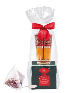 EILLES Geschenkset Tea Diamonds Winterpunsch mit einem orientalischen Teeglas